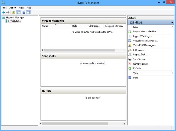 تصویر 9 - آموزش فعال سازی Hyper-V در ویندوز 8 - گروه آموزشی هیوا شبکه