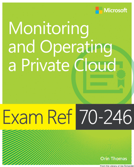 Monitoring and Operating a Private Cloud