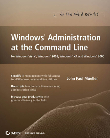 Windows Administration at the Command Line
