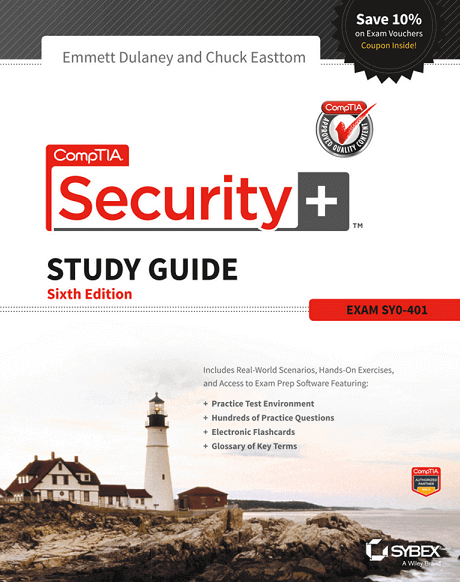 CompTIA Security Study Guide SY0 401 6th Edition